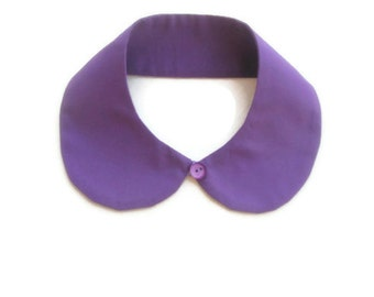 Purple Peterpan Collar, Peter Pan Collar, Purple Peter Pan Collar, Collar Necklace, Peterpan Necklace, Nuray