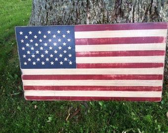 24 x 44 American Flag - outdoor