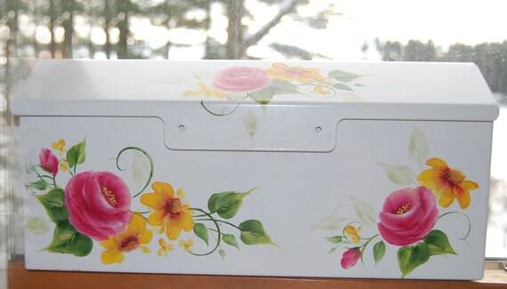 Pastel Floral Mailbox