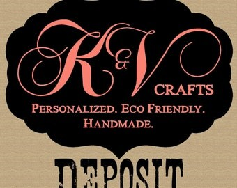 DEPOSIT for Wedding / Stationery Orders