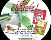 Cathy Johnson's Watercolor Workshop CD