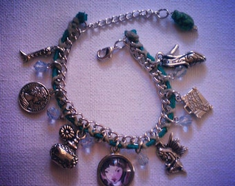Fashionista Wearable art charm Bracelet