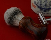 """22 mm """"Best Badger"""" Shaving Brush with Cocobolo Handle"""