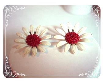 Spring Daisy Earrings - A Breath Of Spring  E128a-04081200