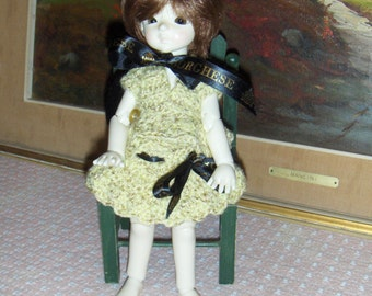 Doll Clothes BJD Yosd Crochet 2 piece Suit handmade Free Shipping 48 contiguous States