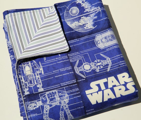 Baby Blanket Blueprint Star
