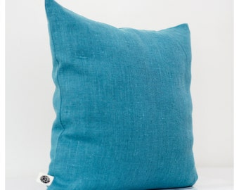 Decorative pillow cover turquoise - decorative pillows - shams - cushion case 0008