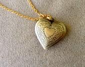 Heartthrob Locket on Chain Necklace