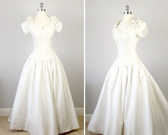 Vintage wedding gown vintage french wedding dress for French vintage wedding dresses