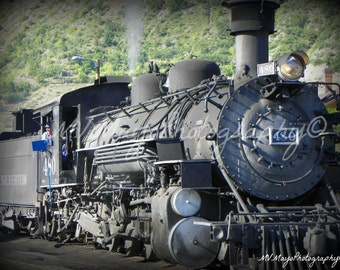 Locomotive /  Train Picture /  Steam Engine / Historical / Free US Shipping