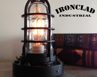 Vintage Industrial Explosion Proof Style Edison Lamp.