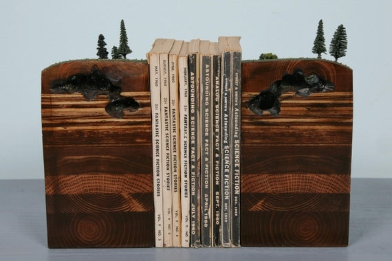 Caves Bookends Of The Earth By Garthborovicka On Etsy
