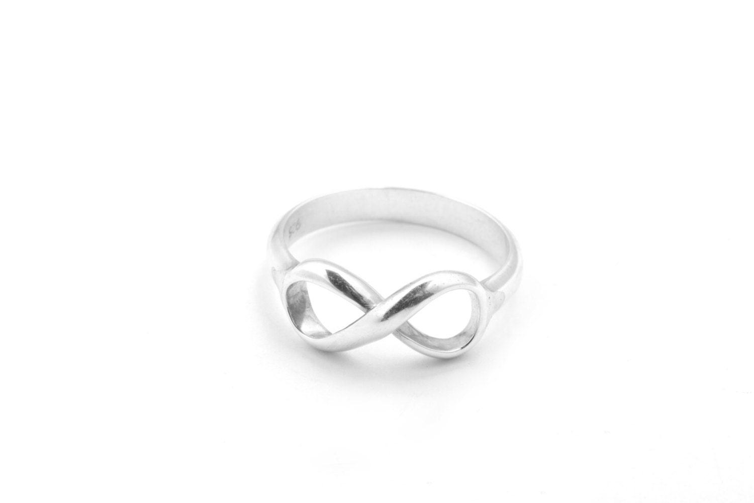 Tiffany & Co Inspired Infinity Ring 925 Sterling by MimicDesign