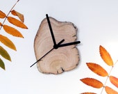 Driftwood Clock. Wooden Clock. Modern Wall Clock. Living Room Decor. Rustic home. Reclaimed Wood.