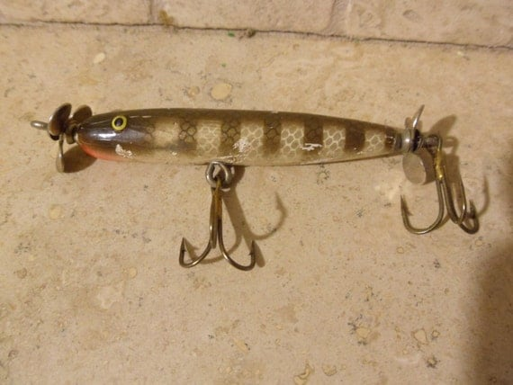 Wooden paw paw torpedo fishing lure by btckreiner on etsy for Torpedo fishing lure