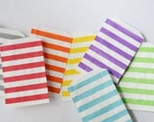 Stripe Paper Bags