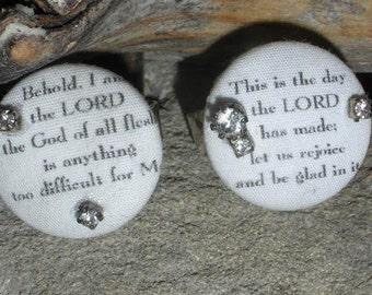 Bible Verse Rings