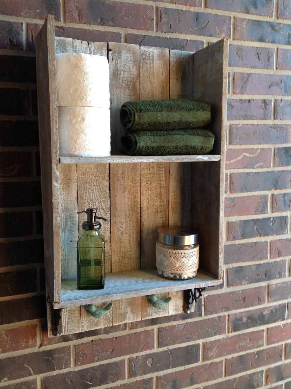 Elegant Rustic Wood Bathroom Shelves By HarvestTrailJourney On Etsy