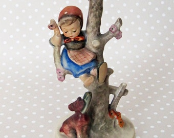 "Beautiful Vintage Hummel ""Out of Danger"" Little Girl Figurine Made in West Germany - Kath"
