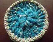Heavy Duty Crochet Cotton & Nylon Mesh Kitchen Scrubbies