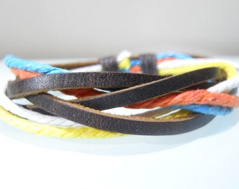 Leather bracelet 003
