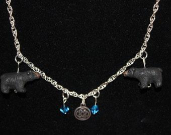 Handmade Brave Scottish Princess Necklace