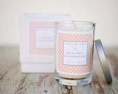 Grapefruit & Mangosteen Luxury Frangrant Soy Candle