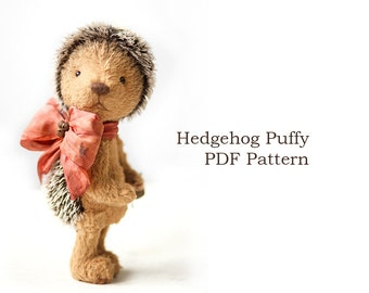 Stuffed hedgehog Etsy