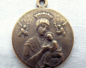 Bronze Our Lady of Perpetual Help