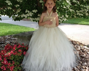 Choose Your Own Color Flower Girl Dress Tutu  Wedding Tutu Dress