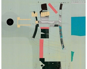 Abstract collage, Abstract composition 57