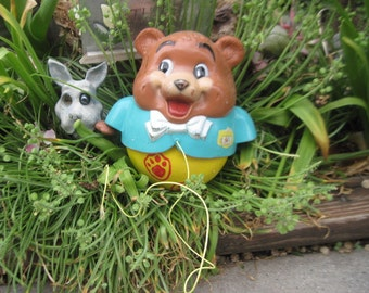 Fisher Price Roly Poly Chubby Bear  1969 / No 164:)S