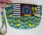 SALE! Fun leaves and Geometrics Large Tulip Travel bag