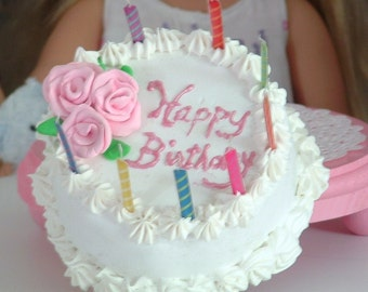 Birthday Cake for American Girl