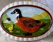 Vintage Ceramic Duck Wall Hanging Mallard Mold Towle Co.  Gailstyn-Sutton