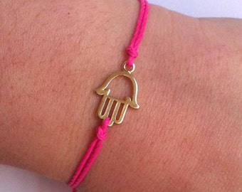 Good Luck Bracelet - Hamsa Bracelet - Protection from the Evil Eye - Hamsa Charm Bracelet