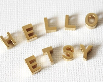 ADD an extra letter to your personalised Bracelet or Necklace