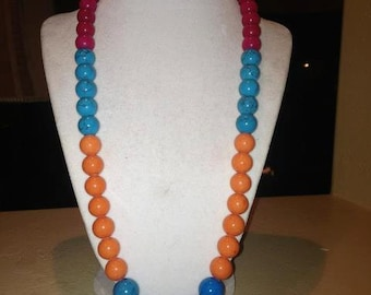 Summer Bliss Colorblock Necklace