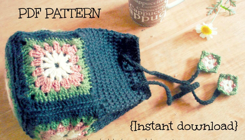 Drawstring Bag Crochet Pattern : Like this item?