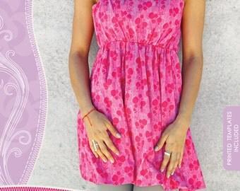 GODDESS dress pattern by Pat Bravo sizes 4-14 (XS-XL)