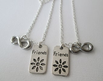 2 Infinity, Friends Necklaces