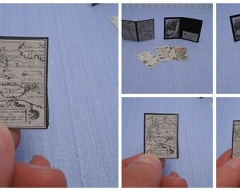 Gaël  Miniature folder maps