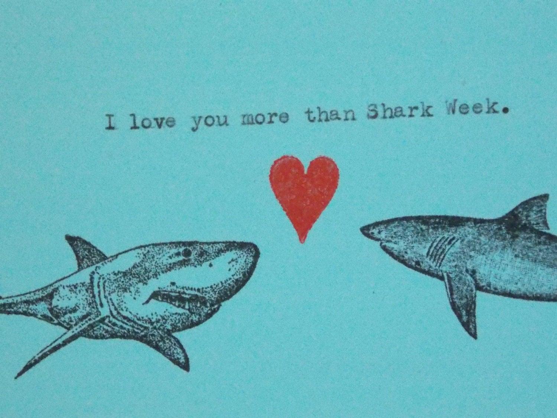 shark card  etsy, Birthday card