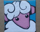"Flaaffy Painting 2"" x 2"""