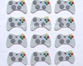 Fondant Cupcake Toppers - Video Game Controller (1.5 dozen)