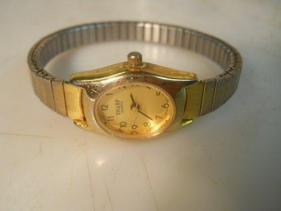 sharp quartz watches. items similar to sharp ladies watch \ sharp quartz watches g