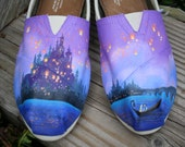 Fairytale Hand Painted TOMS Shoes