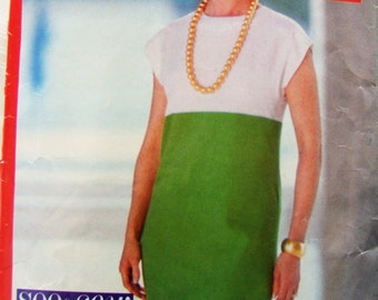Butterick 6111 See and Sew womens dress sizes 6 - 10