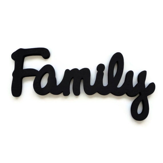 family wall sign wooden lettering wall hanging With family wooden wall letters