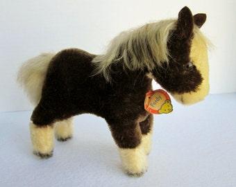 Vintage Steiff Ferdy Mohair Pony